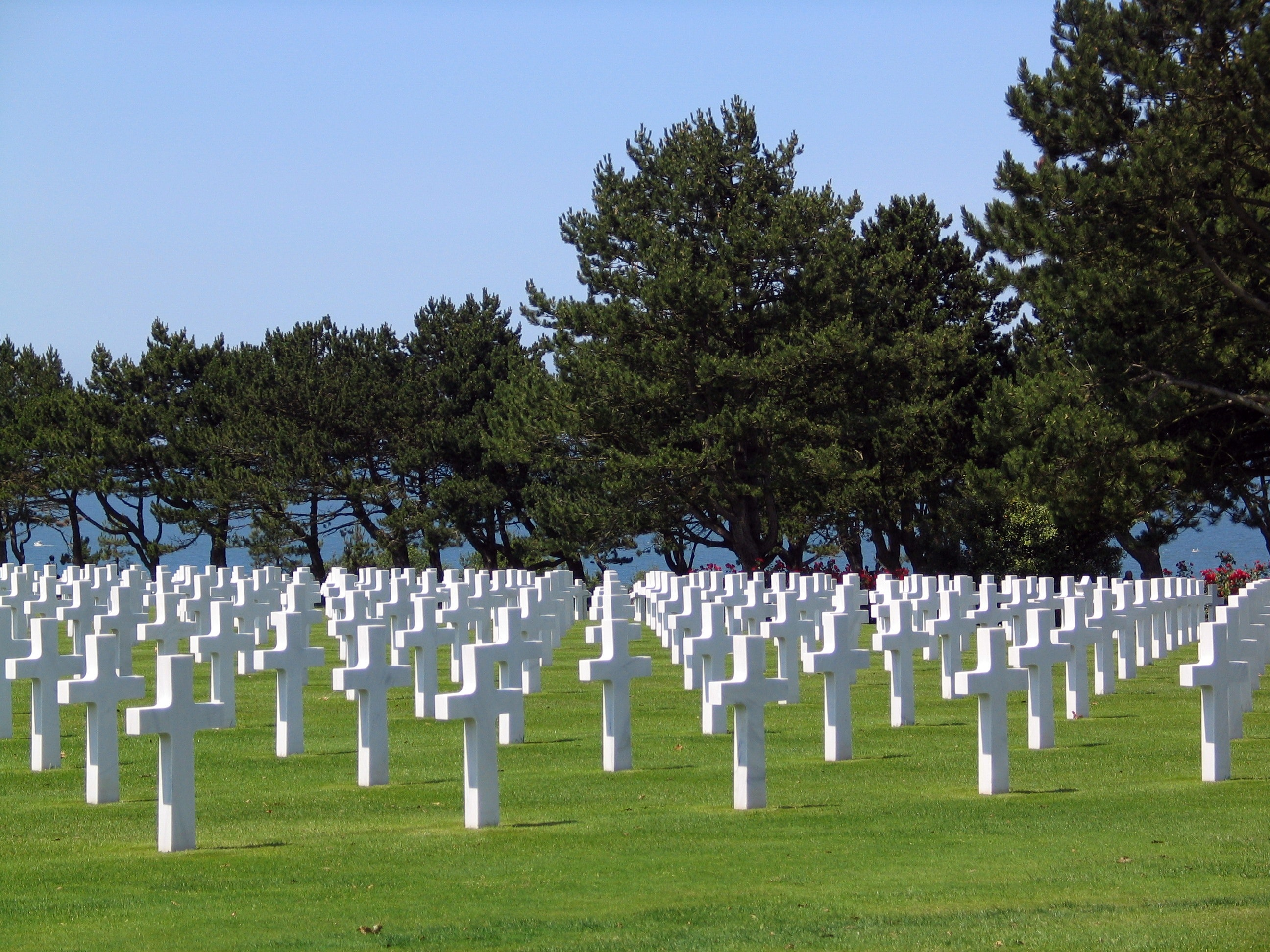 Traditional Military Graveyard